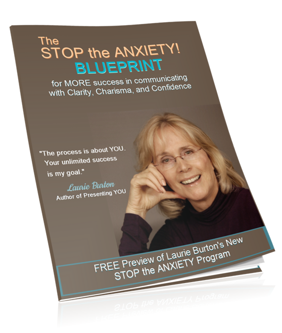 Laurie Burton Stop the Anxiety Blueprint